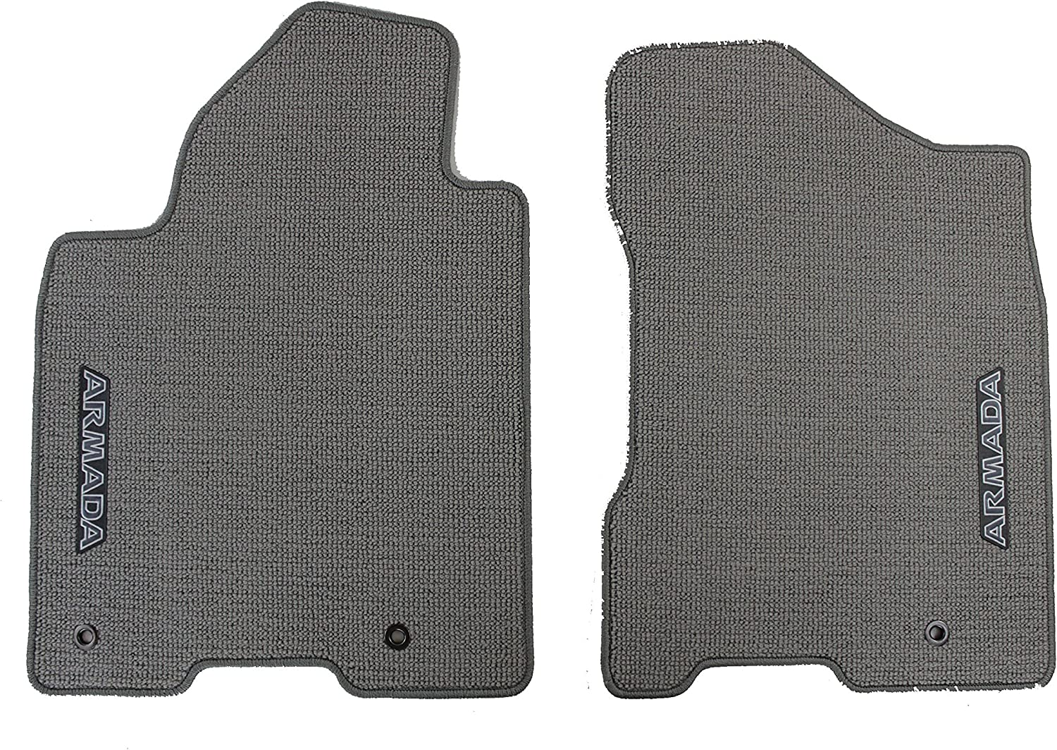 Charcoal Genuine Nissan Accessories Custom Fit Carpeted Floor Mat