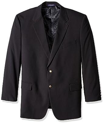 Adolfo Men's Classic Portly Blazer at Amazon Men's Clothing store: