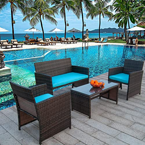 Polar Aurora Outdoor Furniture Set
