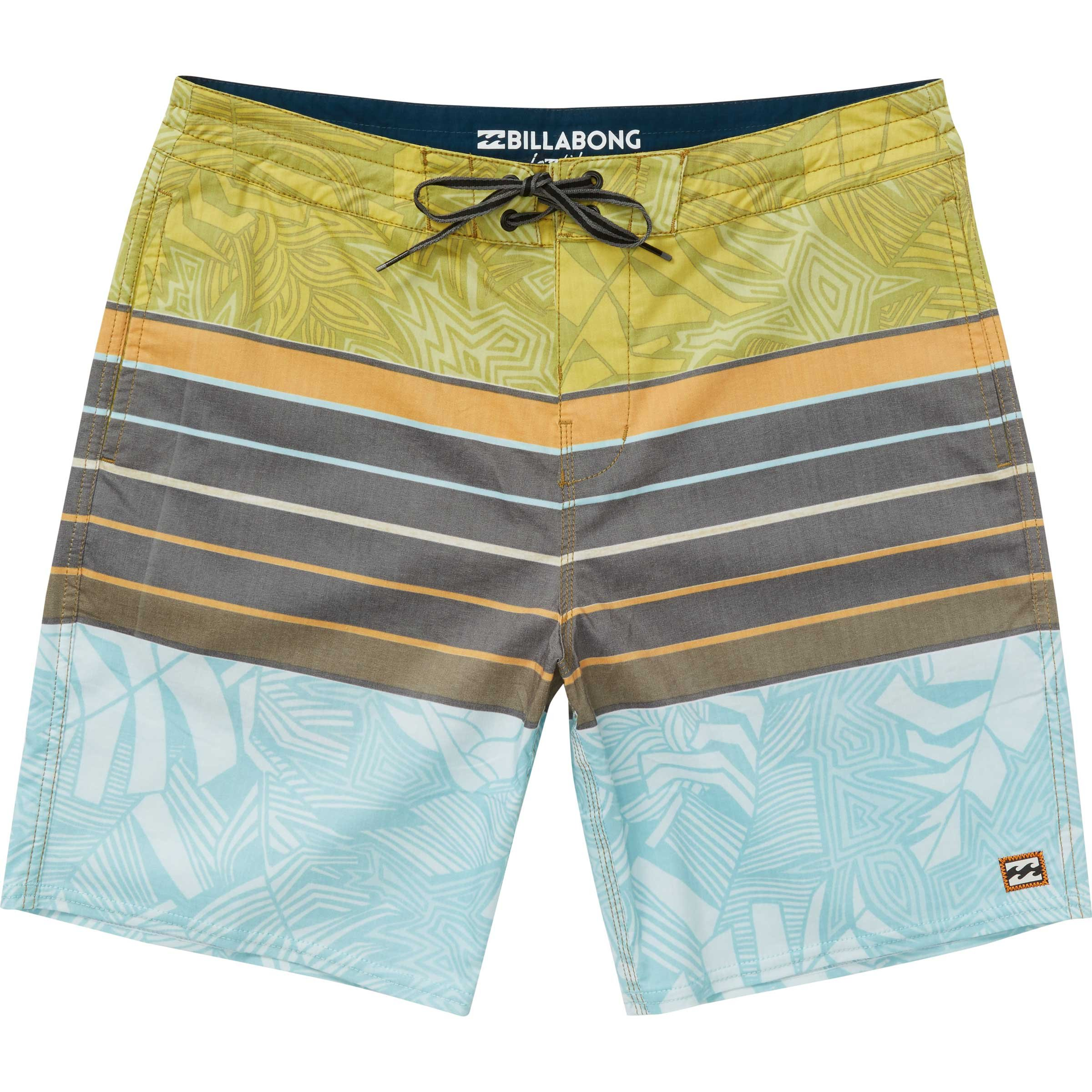 Billabong Men's Stringer Lt Boardshort, Mustard, 34