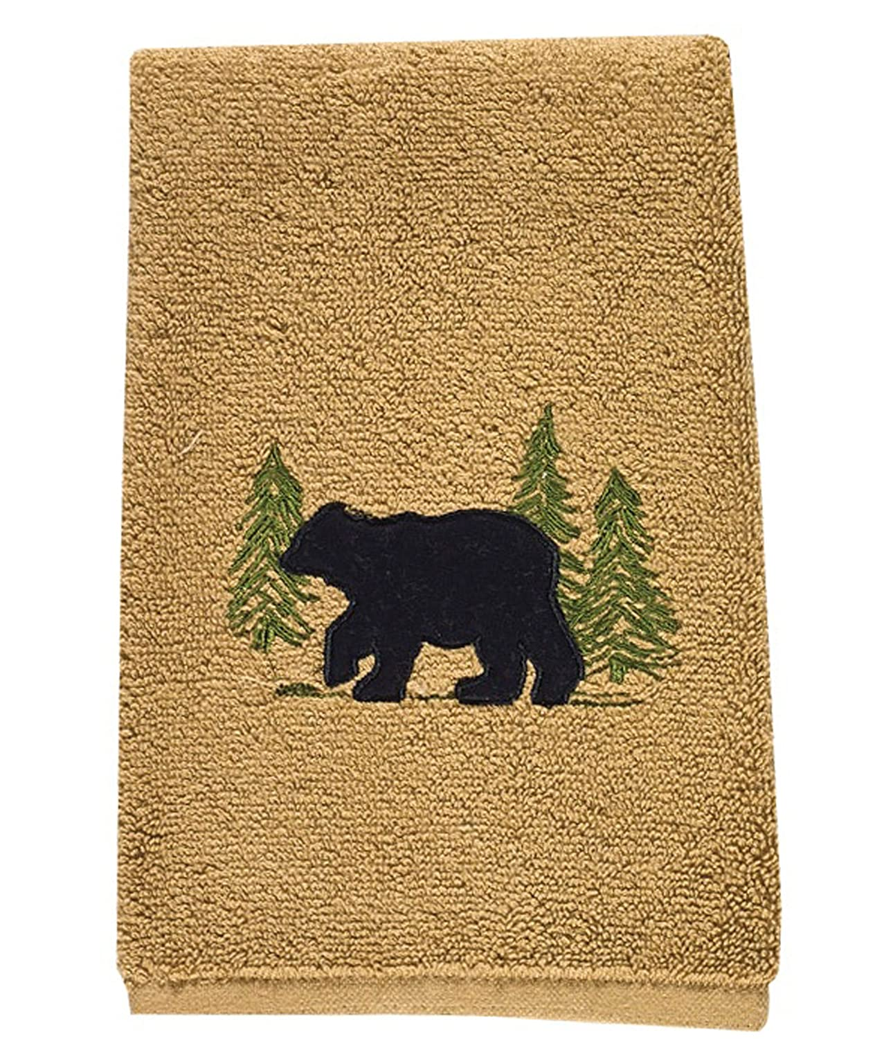 Park Designs 680-80 Black Bear Terry Fingertip Towel 19