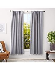 AmazonBasics Curtain Rod with Round