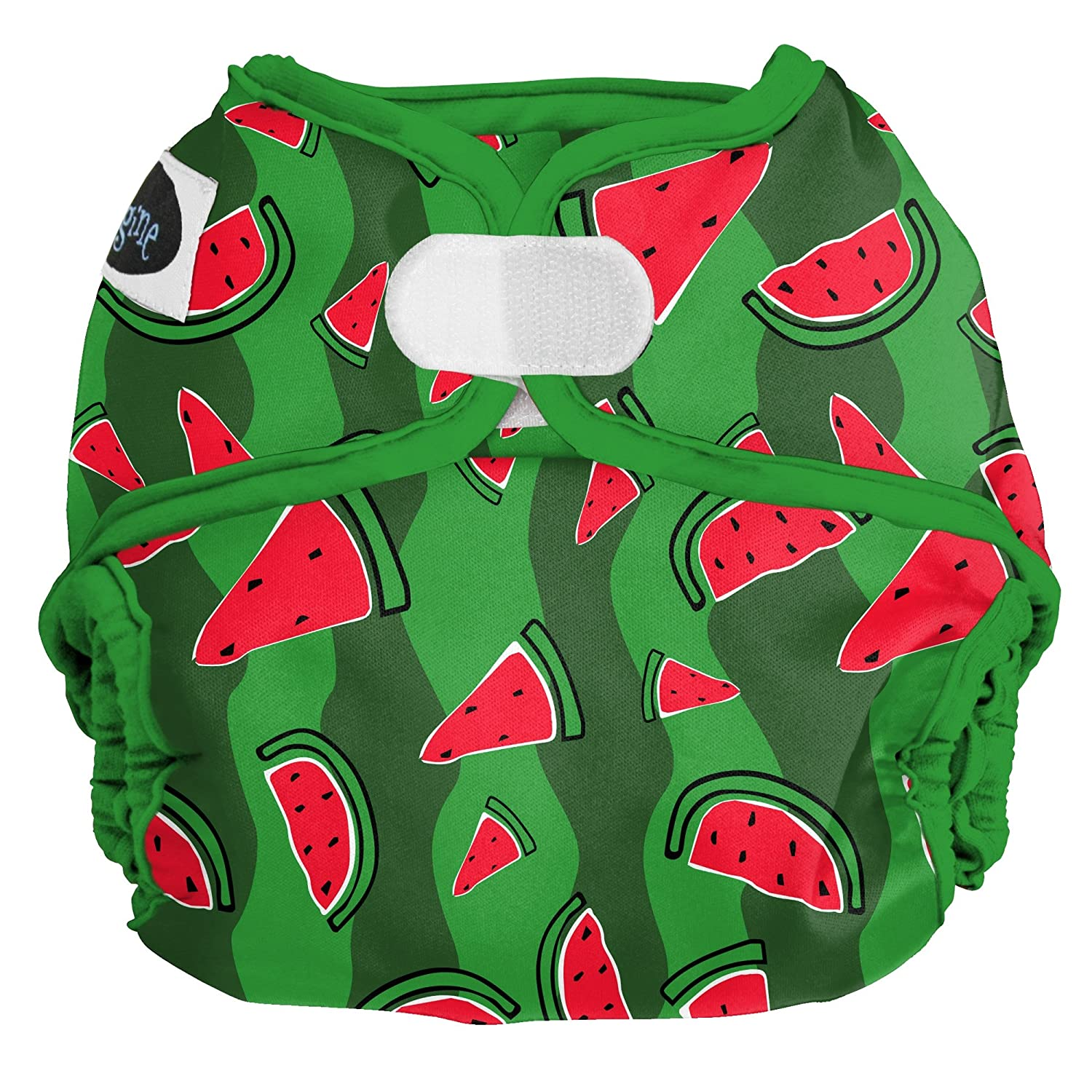 Imagine Baby Products One Size Cloth Diaper Cover Watermelon Patch Snap