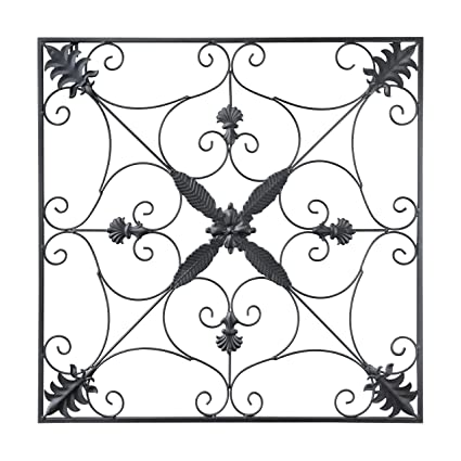 Amazon.com: gbHome GH-6776 Metal Wall Decor, Decorative Victorian ...