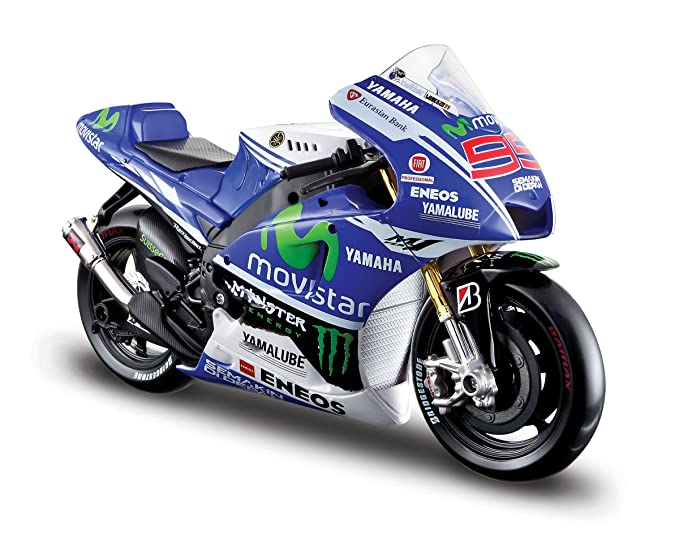 1 opinioni per Maisto 531405-99- Modellino Yamaha 99 di Jorge Lorenzo, Moto GP '14, scala 1:10