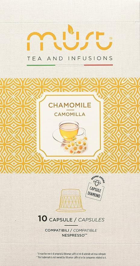 36 opinioni per Must Espresso Italiano 100 Capsule Compatibili Nespresso Infuso alla Camomilla