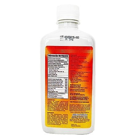 Amazon.com: Iron Vitamin & Minerals for Anemia Eliminates Fatigue Increasing Energy- Hierro Vitaminado syrup 340 ml elimina la fatiga,previene la anemia: ...