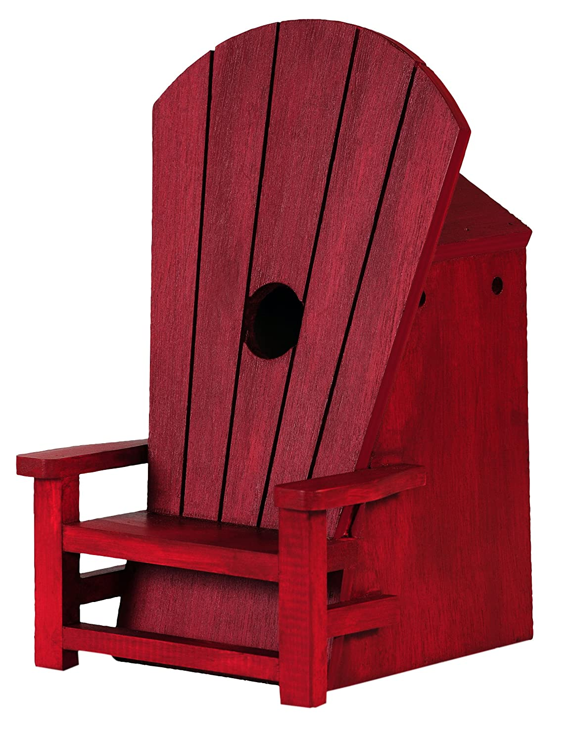 Adirondack Chair Birdhouse OUTSIDE INSIDE 99835