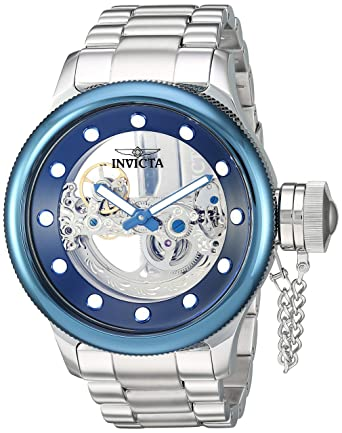15293c904 Invicta Men's Russian Diver Automatic-self-Wind Watch with Stainless-Steel  Strap,
