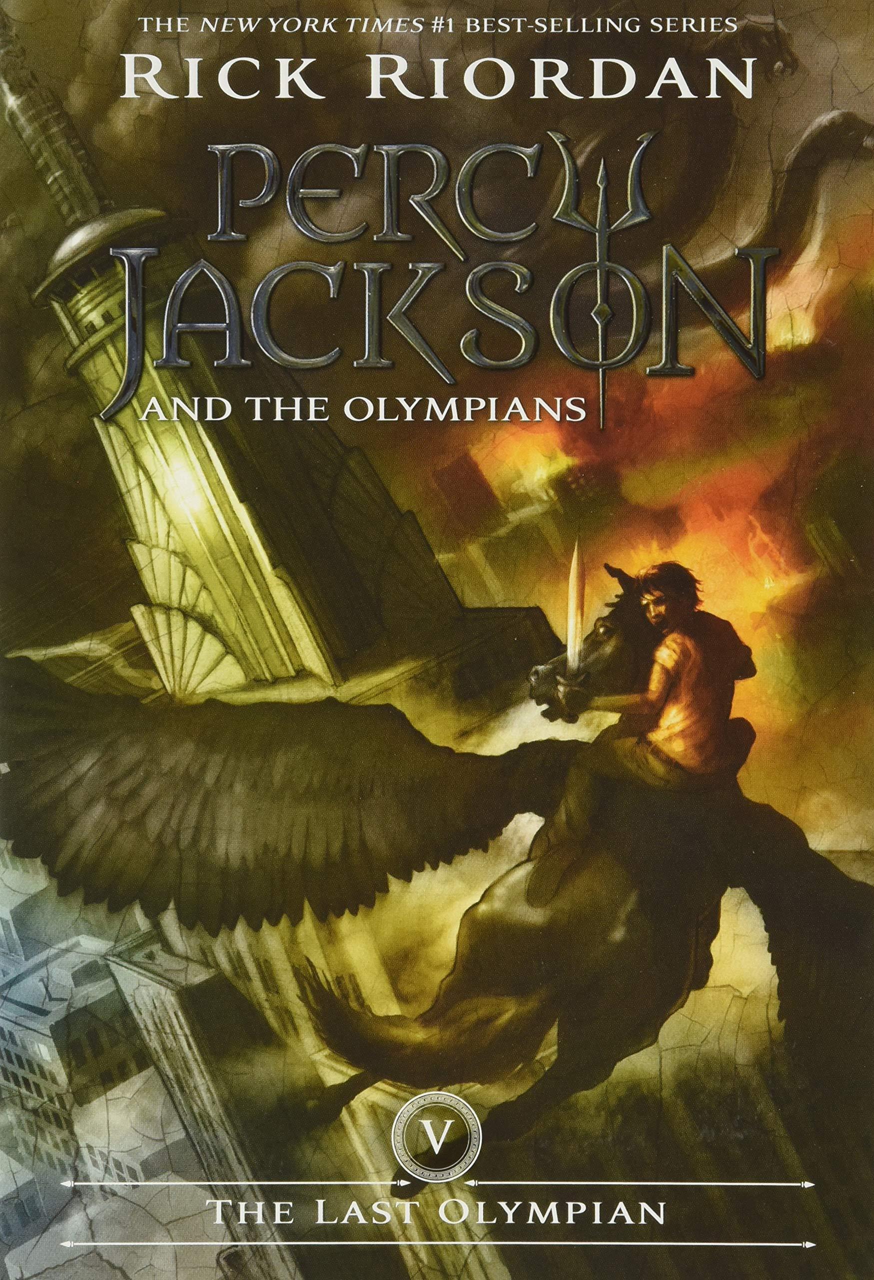 Amazon.com: The Last Olympian (Percy Jackson and the Olympians, Book 5)  (9781423101505): Riordan, Rick: Books