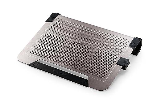 6 opinioni per Cooler Master U3 PLUS- notebook cooling pads (5V DC, Platinum, 435 x 333 x 76
