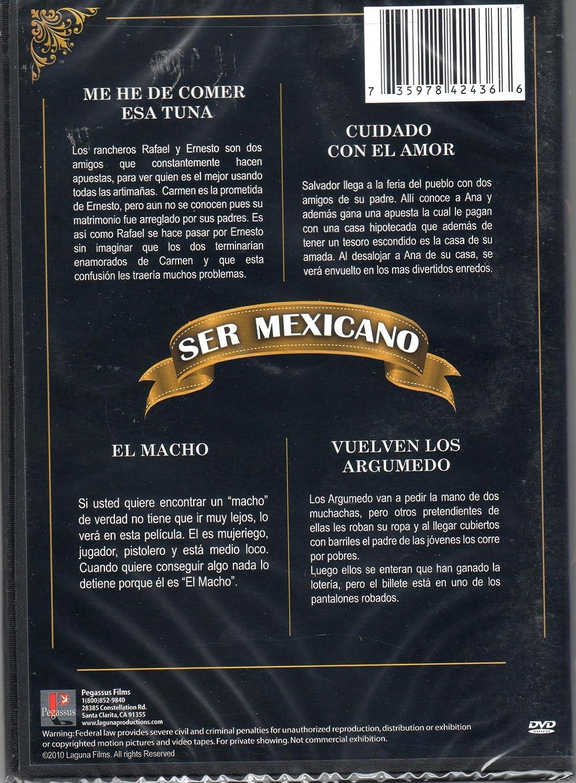 Amazon.com: Ser Mexicano (Me he de comer esa tuna / Cuidado con el amor / Acorralado / Vuelven los argumendo): Movies & TV