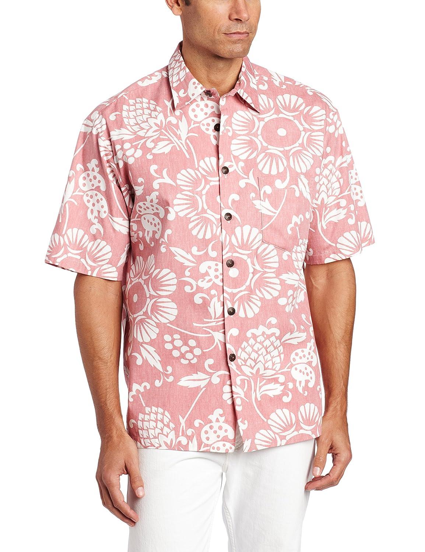 f20ce6d2 Kahala Men's Dukes Pareo Full Button Front Shirt: Amazon.ca: Clothing &  Accessories