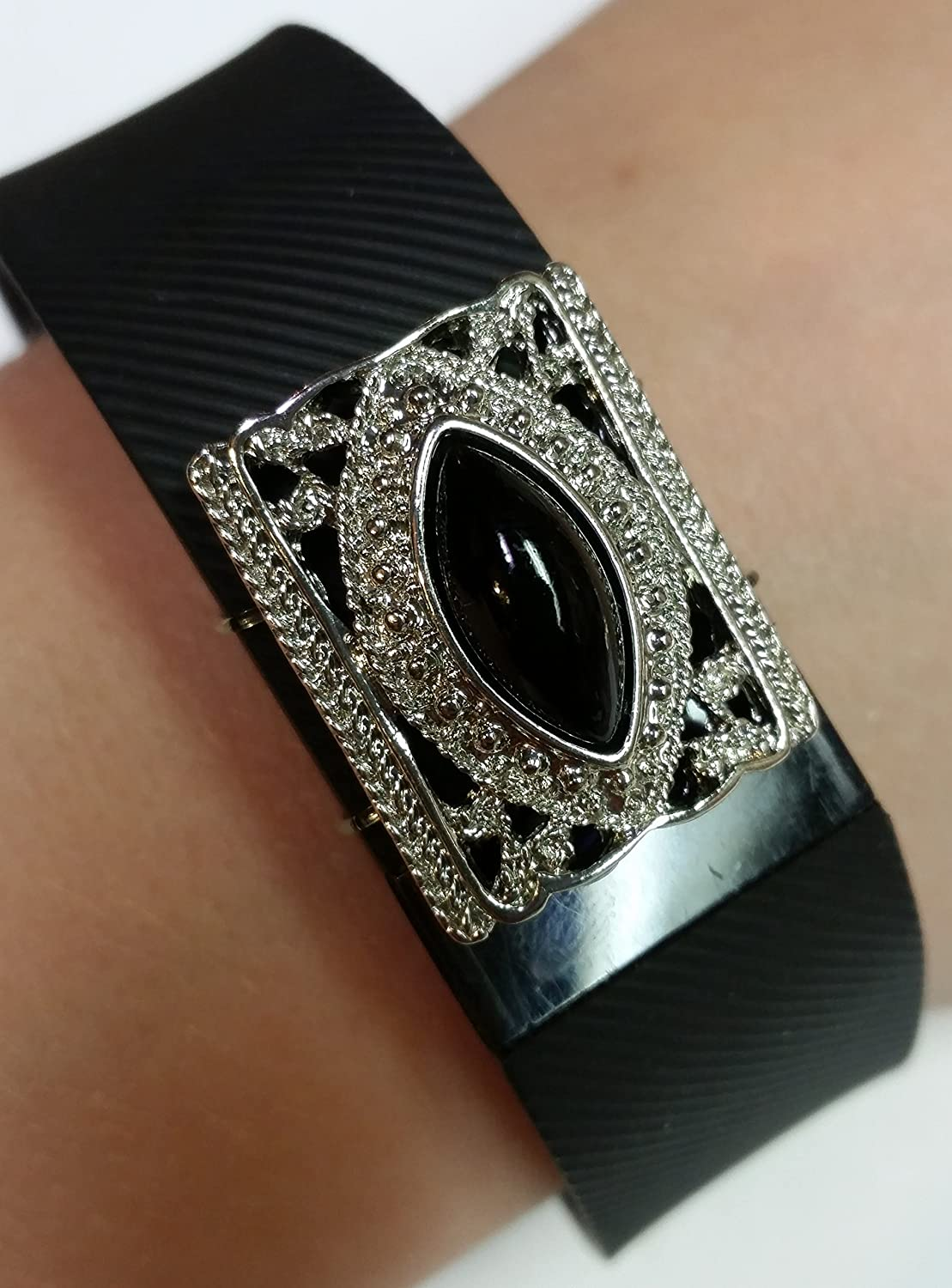 Stepbling Compatible with Fitbit Bling Accessory B atrice