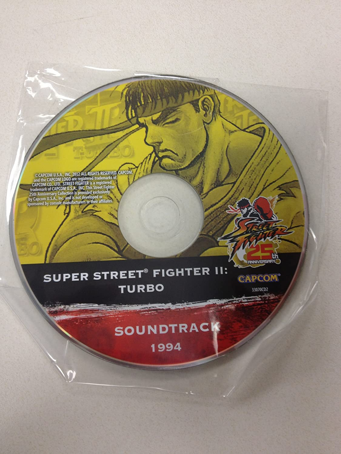 - Limited Edition 25th Anniversary 1994 Super Street Fighter 2 Turbo Sound Track - Amazon.com Music