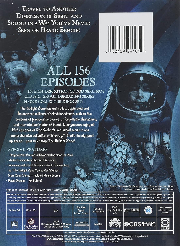Twilight Zone: The Complete Series 24 Blu-Ray Edizione: Stati ...