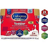 Enfagrow NeuroPro Omega 3 DHA Prebiotics Non-GMO (Former Toddler Next Step) Toddler Nutritional Milk Drink Natural Milk Flavor Ready to Feed Liquid 8 FL. Oz, 6 Count (Pack of 4)
