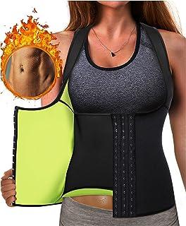 43f1905be8559 Eleady Best Neoprene Waist Trainer Corset Sweat Vest Weight Loss Body  Shaper Workout Tank Tops Women