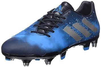 more photos 5a856 b00e5 adidas Malice Elite SG – Chaussures de Rugby pour Homme, Bleu – (maosno