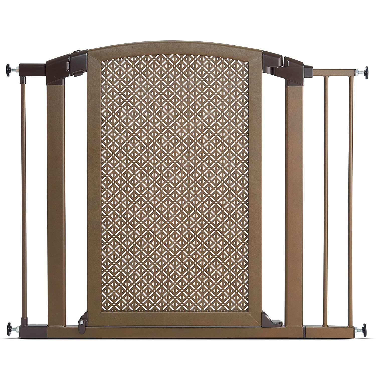 Munchkin Decorative Metal Baby Gate Extension Compatible with Gate Bronze MKSA0658-011 2.75 2.75 31175