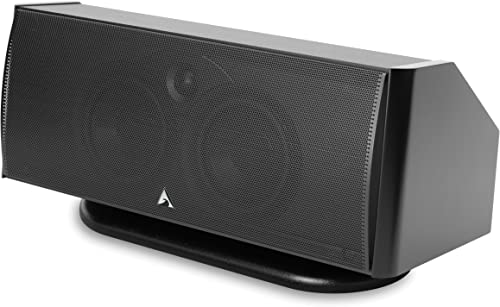 Atlantic Technology 4400C-BLK THX Certified Center Channel Speaker Single, Black