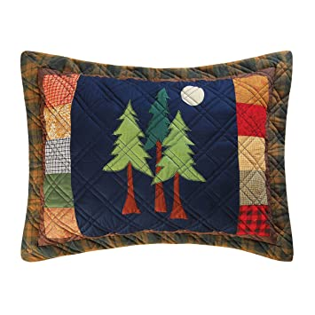Amazon.com: C&F Home Timberline Quilt Collection Standard Sham, 20 ... : timberline quilt - Adamdwight.com