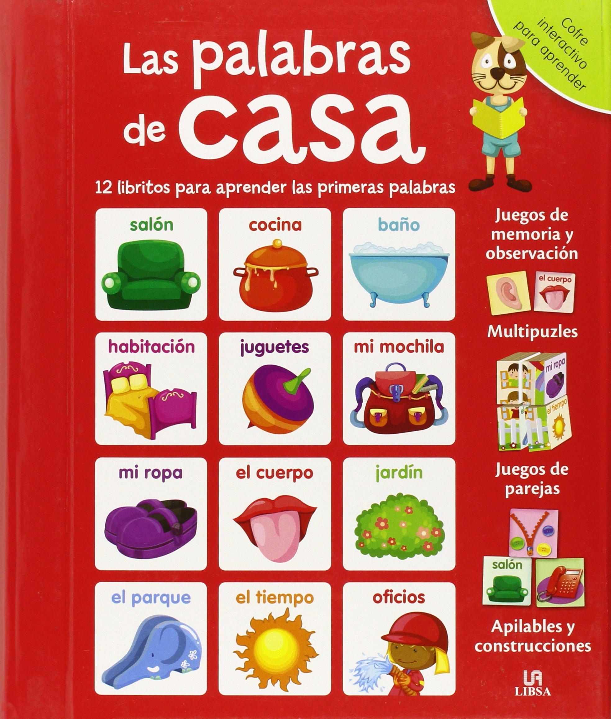 Download La Palabras de Casa: 12 Libritos para Aprender las Primeras Palabras pdf
