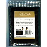 Follic Tech Hair Building Fibers Dark Brown 50 Grams Highest Grade Refill That You Can Use for Your Bottles from Competitors