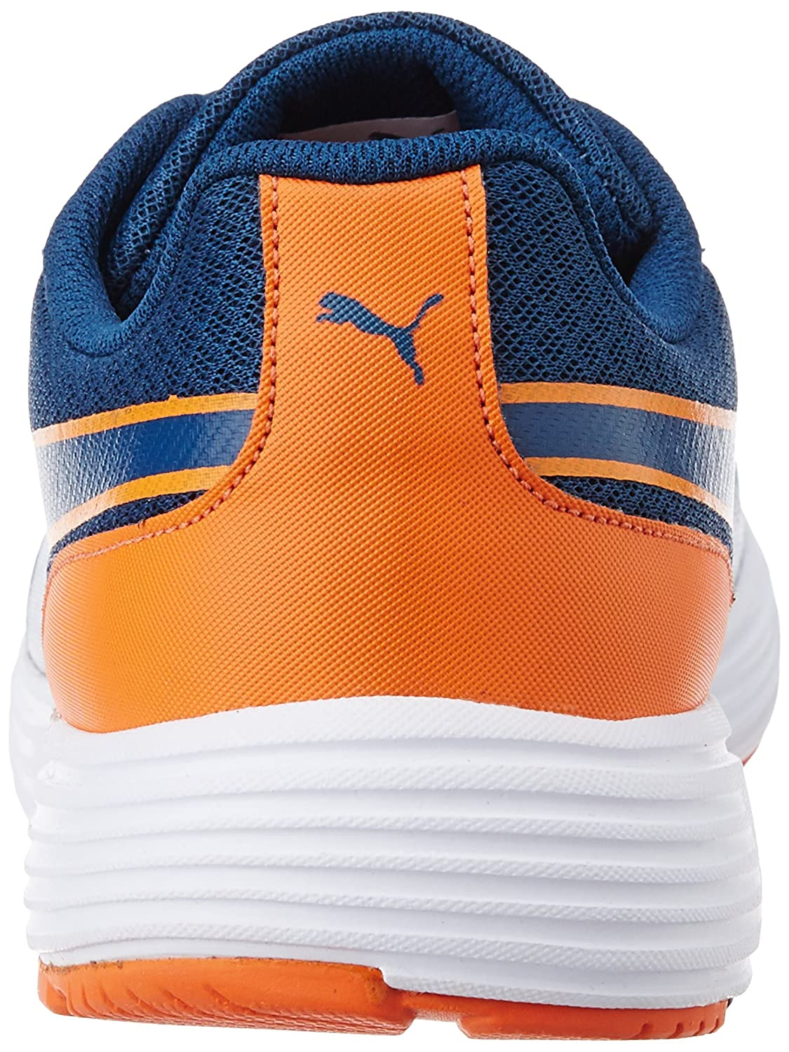 fbf90d1a4317c2 Puma Men s Future Runner DP Poseidon and Orange Mesh Running Shoes -  10UK India (44.5EU)  Buy Online at Low Prices in India - Amazon.in