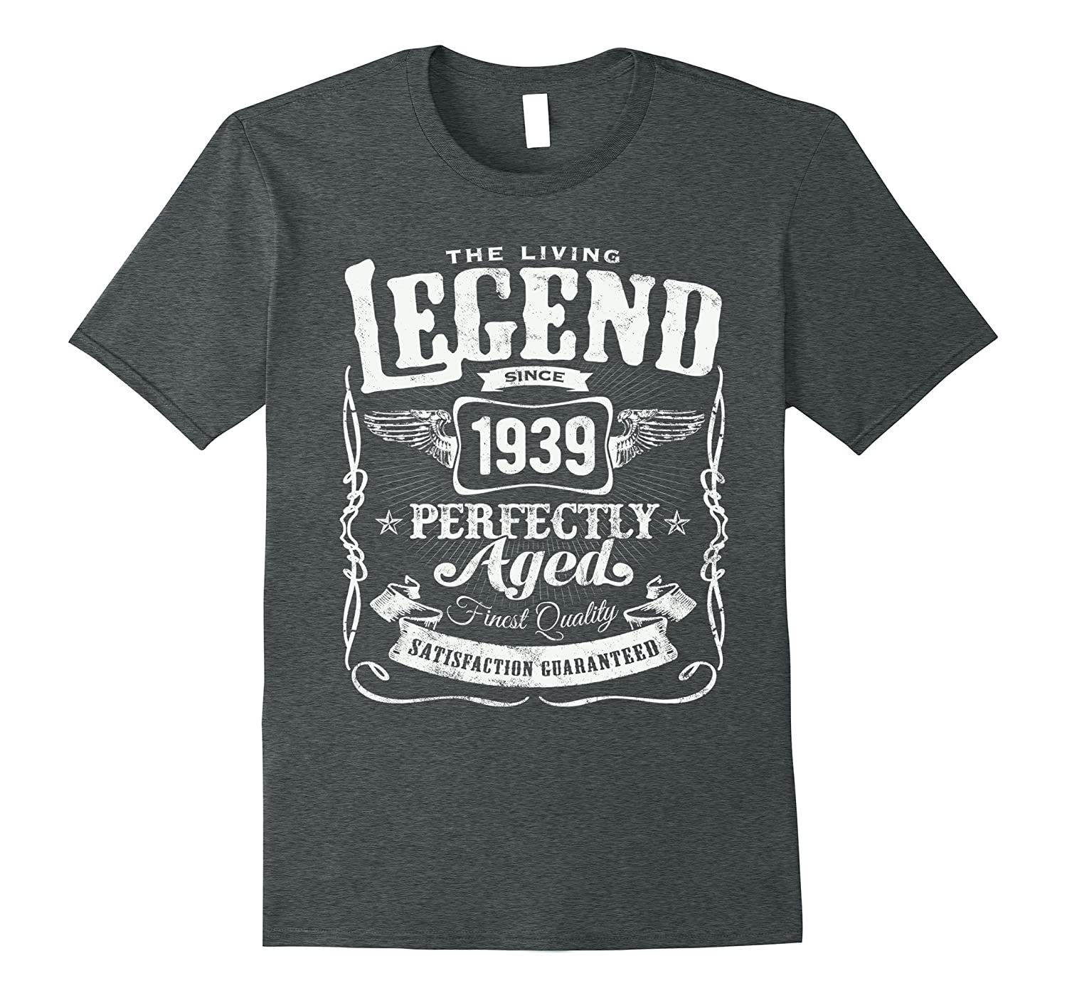 1939 Birthday Gift Vintage The Living Legend 79 Years Old-ah my shirt one gift