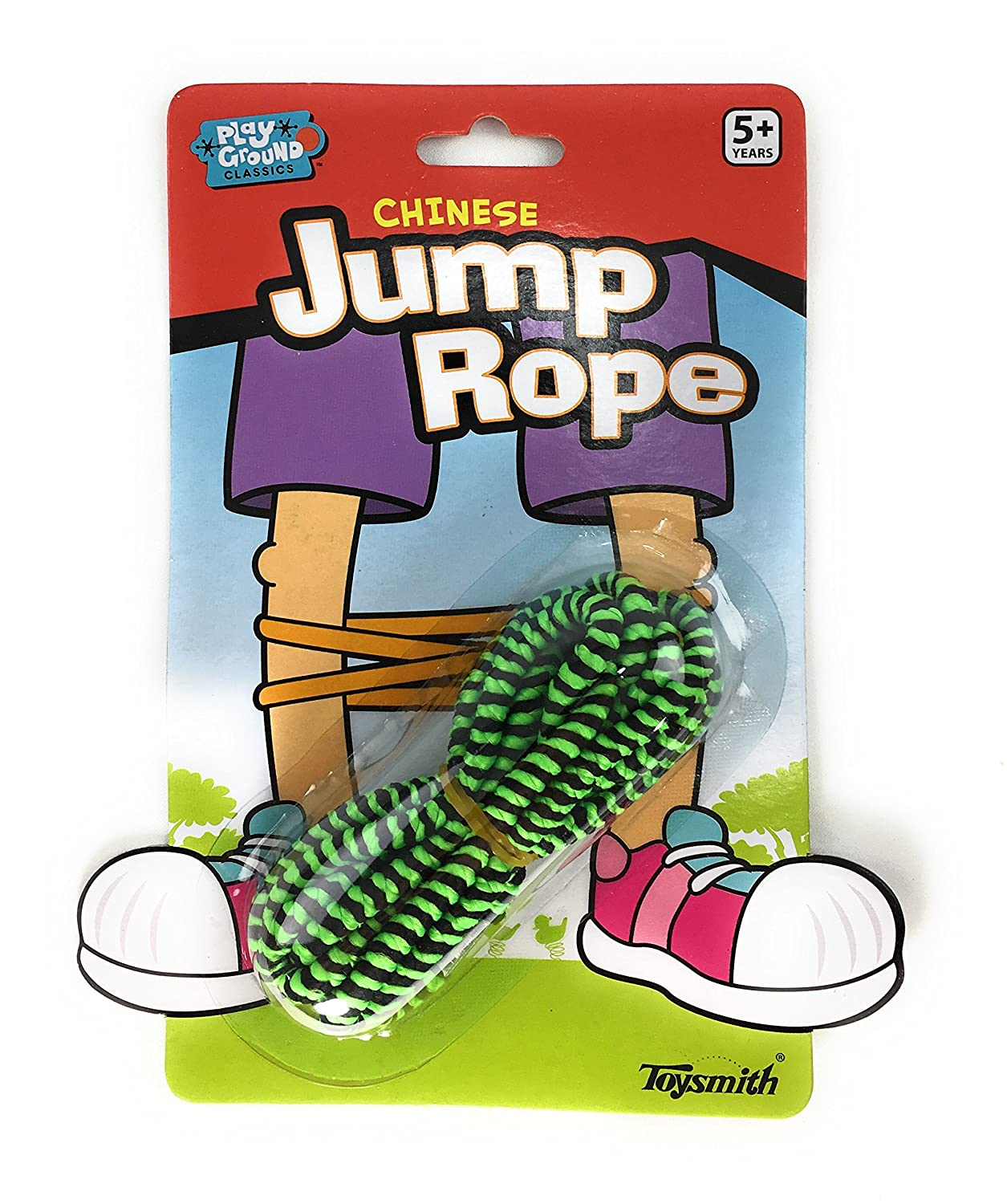 60 Toysmith Chinese Jump Rope 3 Pack Gift Set Party Bundle
