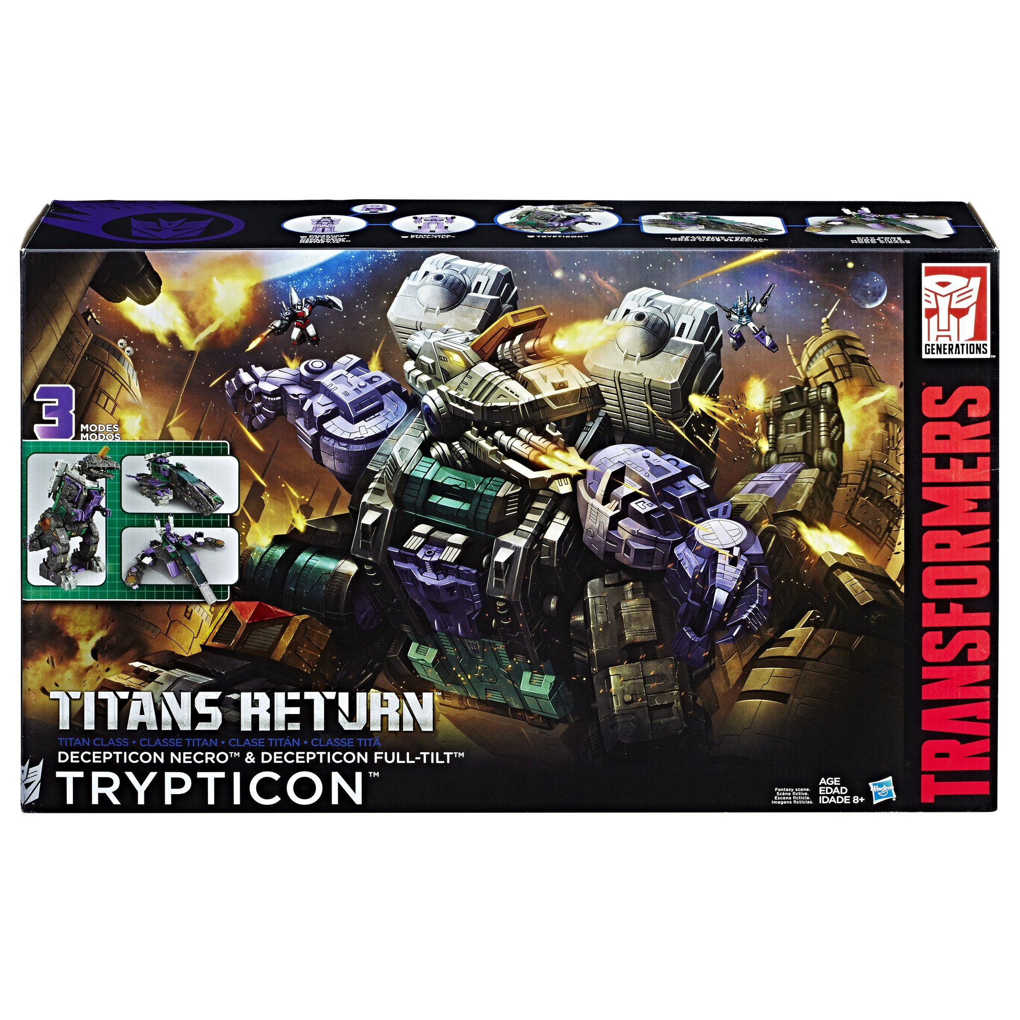 Transformers Generations Titans Return Titan Class Trypticon by Transformers (Image #2)