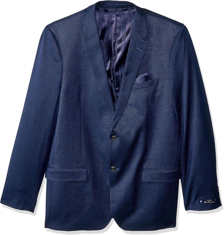 Ben Sherman Men's Modern Fit Suit Separate Blazer (Blazer and Pant), Blue