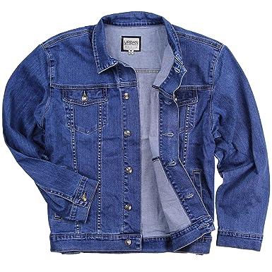 6a64284d447 Mens Stretch Fit Blue Jean Denim Jacket at Amazon Men's Clothing store: