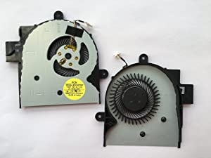 HK-Part Replacement Fan for HP Envy X360 M6-W M6-W010DX M6-W101DX M6-W102DX CPU Cooling Fan 4-Pin 4-Wire HP Spare 807524-001