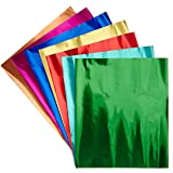 Hygloss Metallic Foil Paper - 8 1/2 x 10 inches - Pack of 24 - Assorted Colors