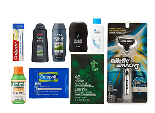 FREE Men's Grooming Sample Box...