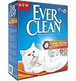 EverClean Ever Clean Litière pour chat contrôle des odeurs à action rapide, grande, 10litre,