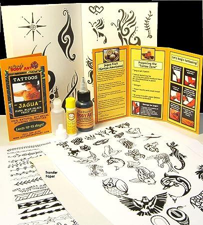 Amazon Com Jagua Kit 30ml Jagua Over 150 Designs Ready To Use