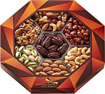 magnificent gift baskets gourmet food nuts gift basket 7