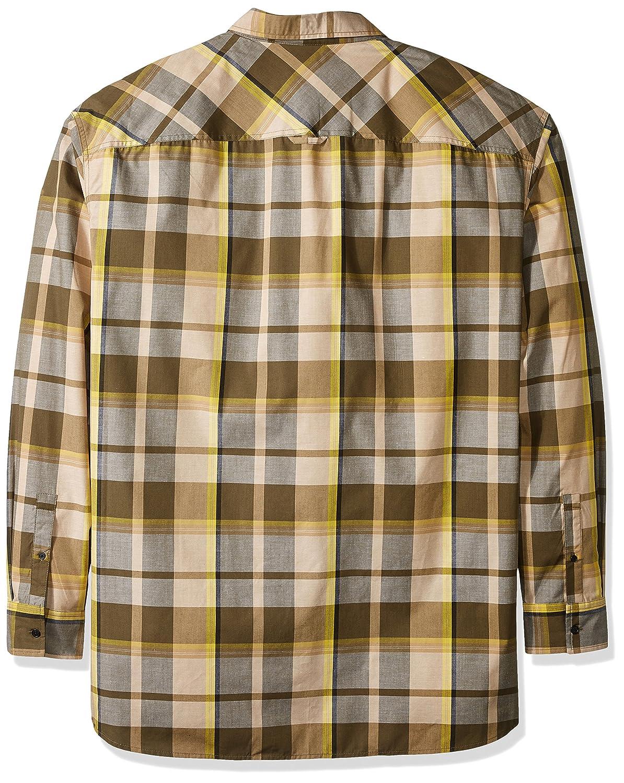 Sean John Mens Big and Tall Long Sleeve Epaulette Shirt