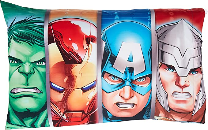 marvel avengers assemble pillow case j