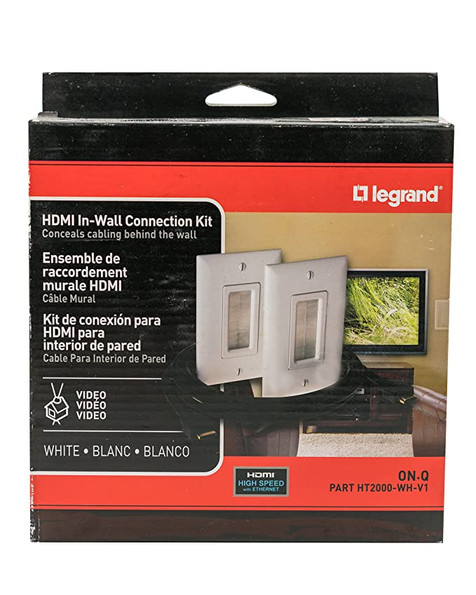 Amazon.com: Legrand - On-Q HDMI In-Wall Connection Kit ...