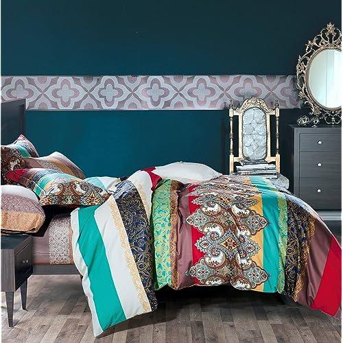 Bohemian Comforter Set Amazon Com
