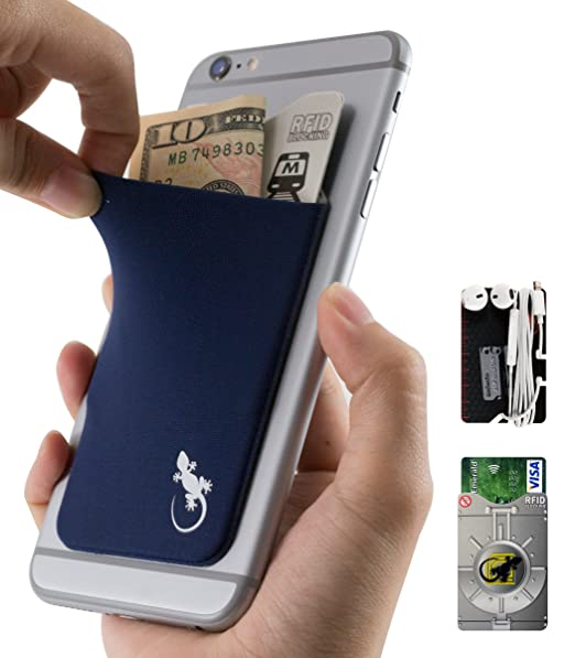 5 opinioni per The Gecko Adhesive Card Wallet for Cell Phones, Ultra Slim & Custom Designed