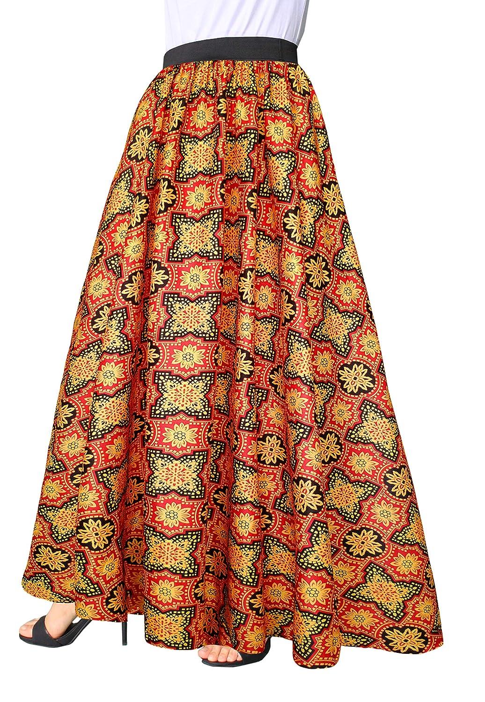 60s Skirts | 70s Hippie Skirts, Jumper Dresses Afibi Women Chiffon Mopping Floor Length Big Hem Solid Beach High Waist Maxi Skirt $20.99 AT vintagedancer.com