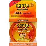 Cantu Extra Hold Edge Stay Gel, 2.25 Oz