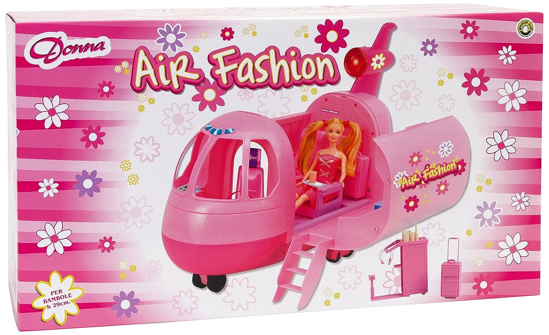 Donna 35285 - Aereo con Luci e Suoni per bambole