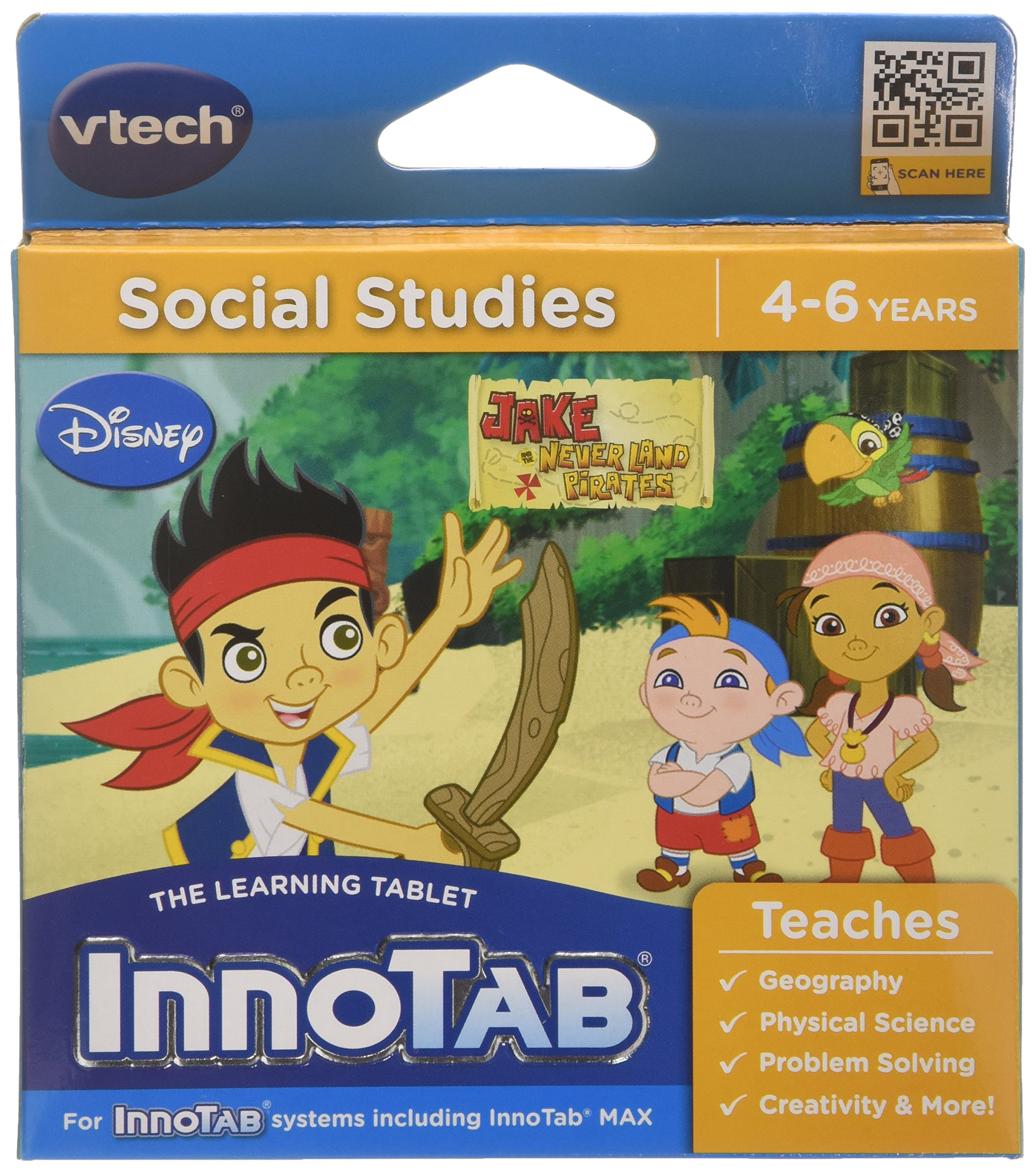 VTech InnoTab Game - Jake and the Neverland Pirates