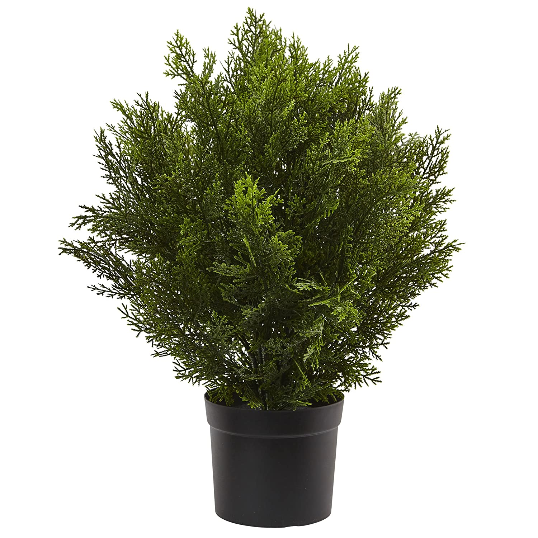 Nearly Natural 6880 2/' Cedar Artificial Bush Indoor//Outdoor